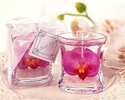 view in gallery diy flower gel candles
