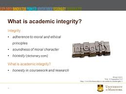 academic integrity let s talk topics to discuss what is  4 integrity