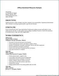 Sample Of Job Resume Example Resume For Job High School Students Resume Examples Resume