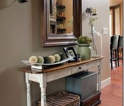Best Home Ideas Traditional Narrow Entry Table Of 20 Ideas That Make A Stylish First
