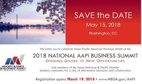 Save the Date: 2018 National AAPI Business Summit