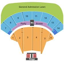Bonner Springs Amphitheater Seating Chart Providence Medical Center Amphitheater Tickets And
