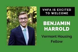 Benjamin Harrold joins VHFA as Vermont Housing Fellow | VHFA.org ...