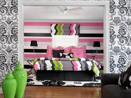 Interesting Teenage Bedroom Wall Designs Tags Contemporary Style Hgtvcom On Creativity Design