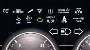 international trucks dashboard lights