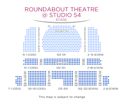 25 Surprising Roundabout Theatre Seating Chart Studio 54