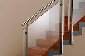 Barandas En Acero Inoxidable Con Vidrio De Seguridad  Escaleras Barandas De Cristal Y Acero Inoxidable