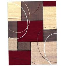 color block area rug 8 x threshold texture and tufted