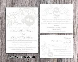 Invitation Downloads Interesting Wedding Invitation Template Download Printable Wedding Invitation