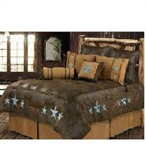 turquoise triple star super king comforter