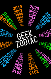 Geek Zodiac Chart The Geek Zodiac Com Welcome