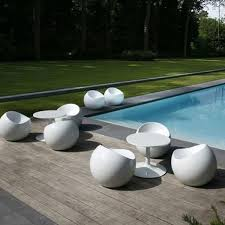 modern concrete patio furniture. Fine Furniture Weatherproof Ball Chair For Pool And Patio At Home Infatuation Blog For Modern Concrete Furniture T