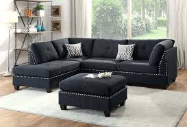 black sectional with chaise black sectional couch complete set black faux leather sectional couch