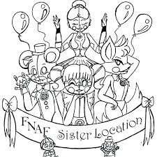Fnaf Mangle Coloring Pages Coloring Pages Foxy And Mangle Coloring