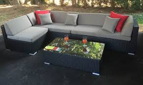 gray patio furniture. STANDARD L SHAPED SECTIONAL Gray Patio Furniture T