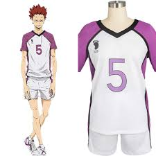 Haikyuu Height Chart 2017 New Haikyu Haikyuu Shiratorizawa Academy Satori Tendo No 14 Cosplay Costume Uniform Anime For Boy Girl