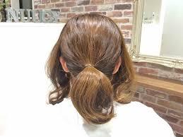 ササッと簡単なのにオシャレ低め位置に作る大人かわいいお団子まとめ髪