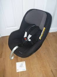maxi cosi 2wayfix pearl car seat 2way 2waypearl fits 2 wayfix isofix base black raven as new