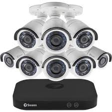 Swann SWDVK-8HD5MP8-US 8 Cameras <b>8 Channel</b> 5MP (<b>1920p</b> ...