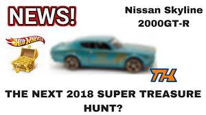 2018 nissan skyline. Perfect Nissan NEW 2018 HOT WHEELS SUPER TREASURE HUNT  Nissan Skyline 2000GTR Throughout Nissan Skyline