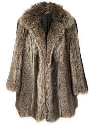 dior vintage possum fur coat
