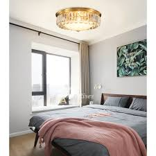 crystal flush ceiling lights fixtures