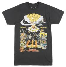 Details Zu Green Day Dookie Album T Shirt Mens 90s Rock Music Bravado Tee Vintage Black Funny Unisex Casual Gift Cheap Tee Shirts Funny Tees From