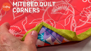 No-Bulk Mitered Quilt Binding (Mitered Corners)   Tutorial with ... & No-Bulk Mitered Quilt Binding (Mitered Corners)   Tutorial with Show  Quilter Susan Cleveland Adamdwight.com
