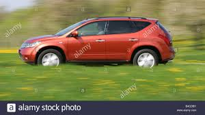 Car, Nissan Murano 3.5 V6, model year 2005-, orange /rust-red ...