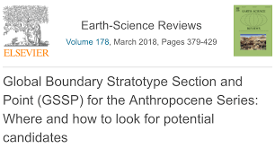 International Chronostratigraphic Chart 2018 Global Boundary Stratotype Section And Point Gssp For The