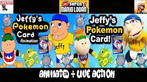 sml jeffy s pokemon card animated live action 2