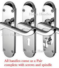 image is loading chrome 039 epsom 039 style handles bath lock