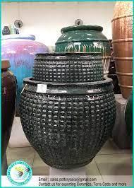 large ceramic outdoor garden pots