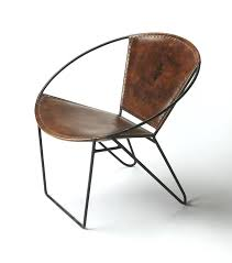 round accent chair. Industrial Accent Chair Nice Round Chairs Modern Iron And Leather L