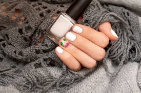 Nail Designs With Jewels 14 Best White Nail Designs White Manicure Art Tutorials