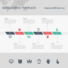 Timeline Photo Template Timeline Infographic Template Vector Free Download