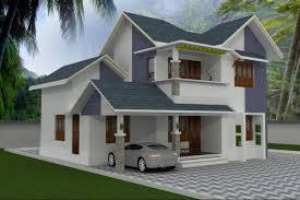 bhk stylish kerala style low cost house