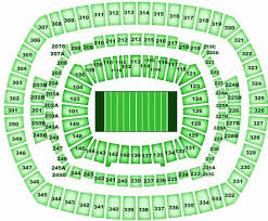 Metlife Stadium Football Seating Chart Jets Football Seating Chart Section 134 Metlife Stadium
