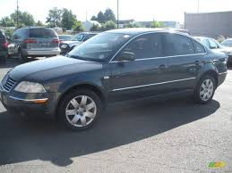 2003 Blue Anthracite Pearl Volkswagen Passat GLX 4Motion Sedan ...
