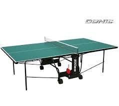 Всепогодный <b>теннисный стол Donic</b> Outdoor Roller 600 зеленый ...
