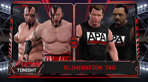 Wwe 2k17 Jblron Simmons The Apa Vs The Ascension In A Elimination Tag Match