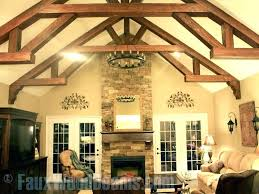 Vaulted ceiling wood beams Dark Vaulted Ceiling Wood Beams Wood Beam Ceiling Vaulted Ceiling Beams Household Faux Wood Beam Ideas For Vaulted Ceiling Wood Beams Comsatcomco Vaulted Ceiling Wood Beams Vaulted Ceiling Faux Wood Beam Vaulted