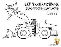 Macho Coloring Pages Of Tractors | Construction | Free ...