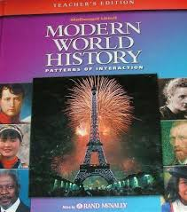 Mcdougal Littell World History Patterns Of Interaction