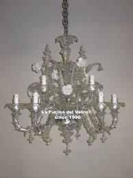 murano glass chandelier minirezzonico antico