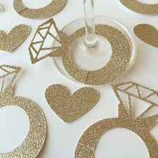 wine glass name tags antique gold diamond glass ring wine drink marker name tags charms wedding wine glass