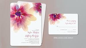 Wedding Invitations Watercolor Read More Watercolor Flowers Romantic Wedding Invitations