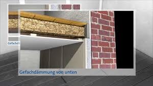 Sichere Innendämmung Für Altbauten Mit Holzbalkendecke Energie