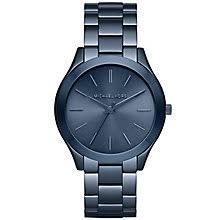 michael kors watches designer watches ernest jones michael kors ladies ion plated bracelet watch product number 5273978