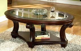 top 70 mean oval wooden coffee table articles with wood tag exciting top full size glass
